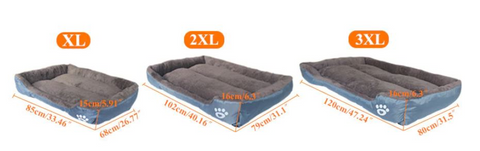 soft dogs bed washable, water proof anti slip dogs bed, help your dog calluses with this dogs bed