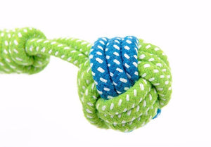 Dog Toy  Cotton Rope Knot  Ball