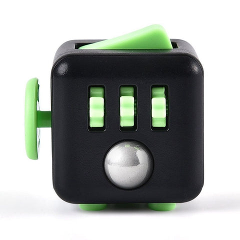 Fidget Cube - Black & Green