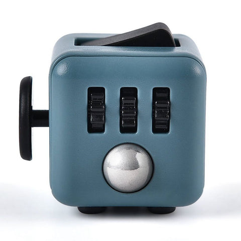 Fidget Cube - Dark Grey & Black