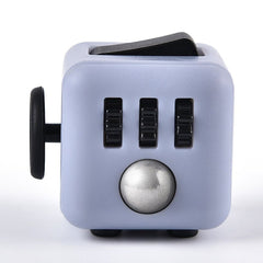 Fidget Cube - Light Grey & Black