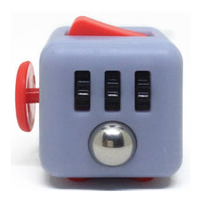 Fidget Cube - Grey & Red