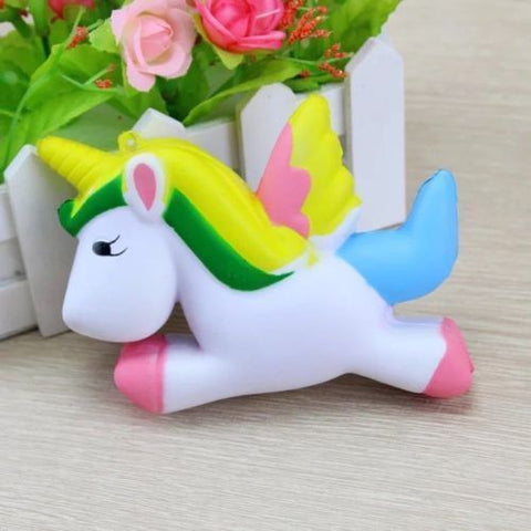 Jumbo Slow Rising Squishie - Rainbow Unicorn
