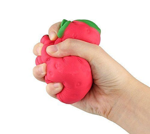 Jumbo Slow Rising Squishie - Strawberry