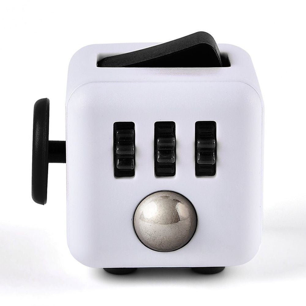 Fidget Cube - White & Black