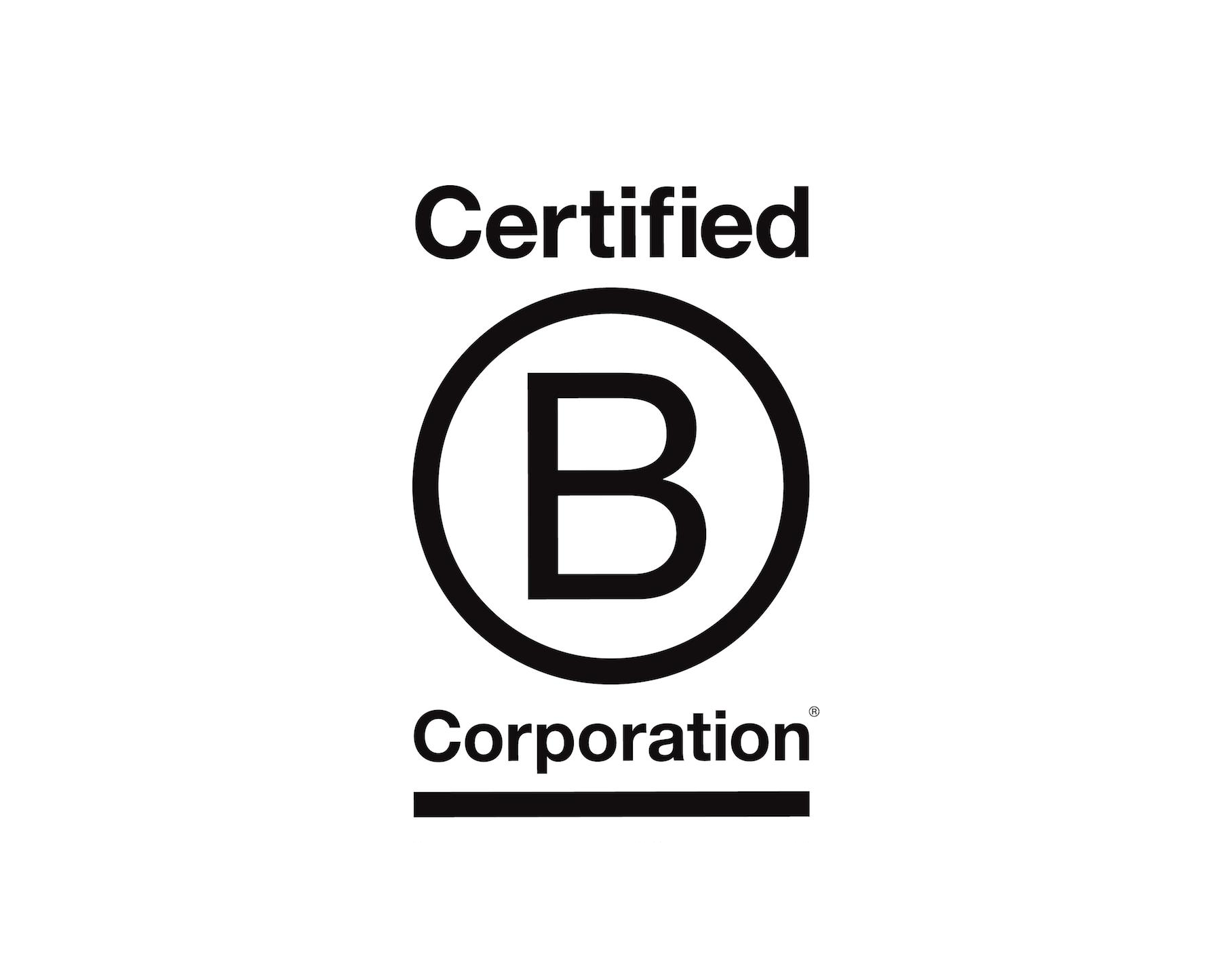 DAME B Corp Certification Stamp