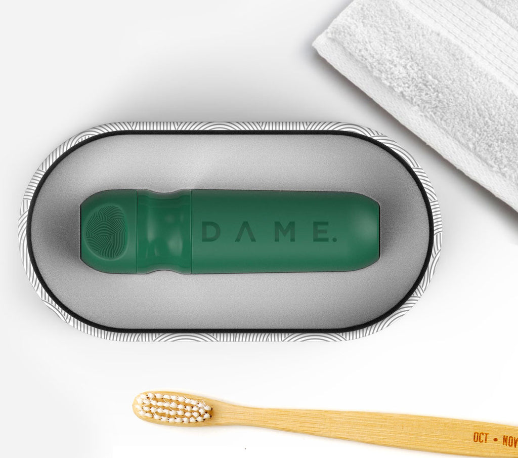 D DAME bathroom eco sustainable toothbrush tampon