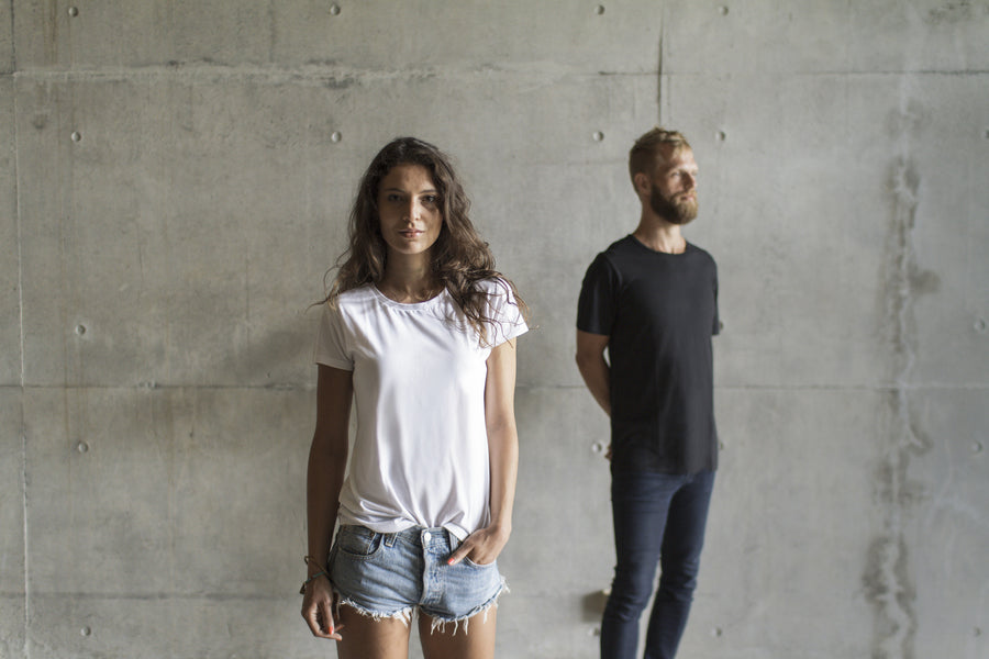 bamboo shirt, an organic t-shirt for men and women