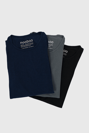 3-pack luxe bamboo t-shirt mix dark