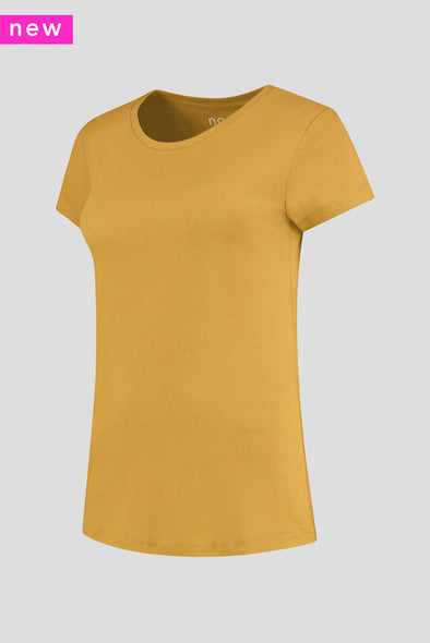 Luxe Bamboo Crew Neck T-Shirt Women - 185 g