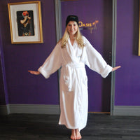 White Micro-Fleece Oasis Robe
