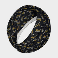 Oasis Stretch Black Headband
