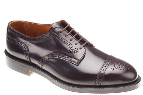 Alden Shell Cordovan Medallion Tip Blucher Oxford