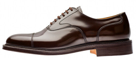 Church's Lancaster Black Polished Binder Cap Toe w/Double Sole - 7870/51