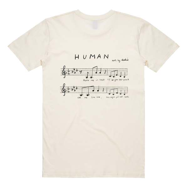 HUMAN MUSICAL NOTE TEE