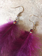 Feather Earrings by Pretty Cactus