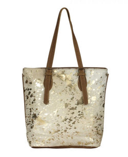 Tingles leather tote Myra bag
