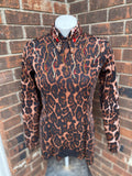 Small/medium cheetah bolero set by Kelly's customs