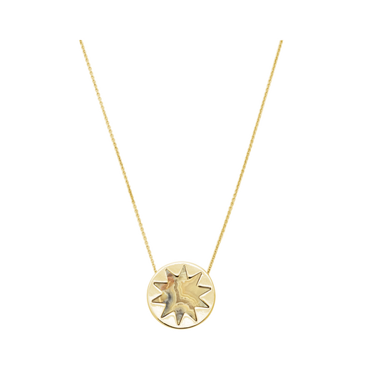 Gracy Lace Mini Sunburst Pendant Necklace