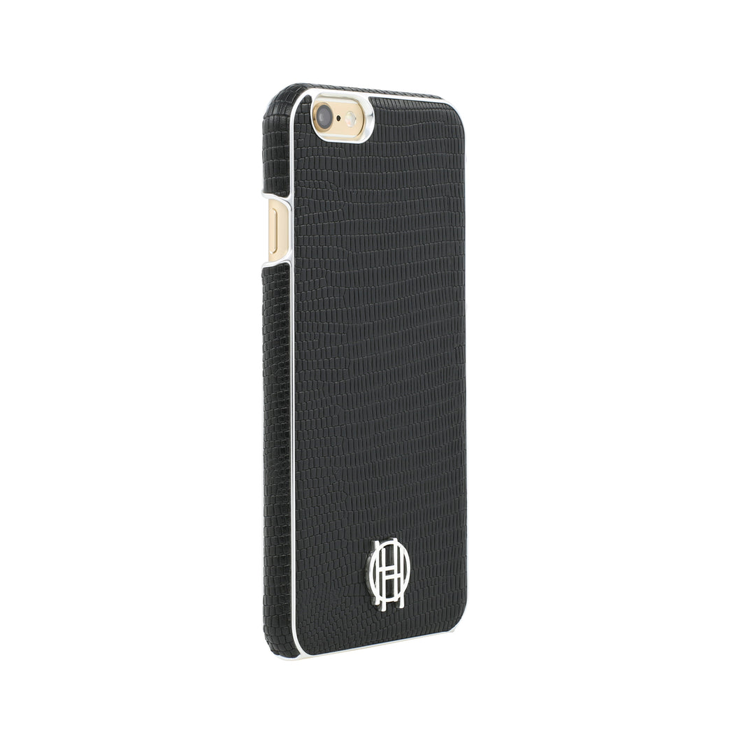 Black/Gold Metallic Snake Snap Case - iPhone 6/6s