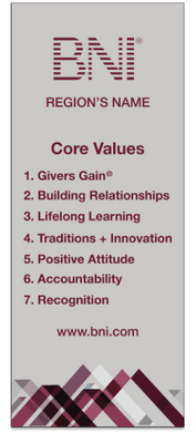 Core Values Retractable Banner