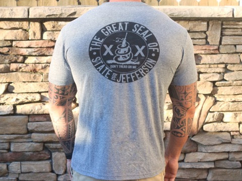 State of Jefferson Shirt (Grey)