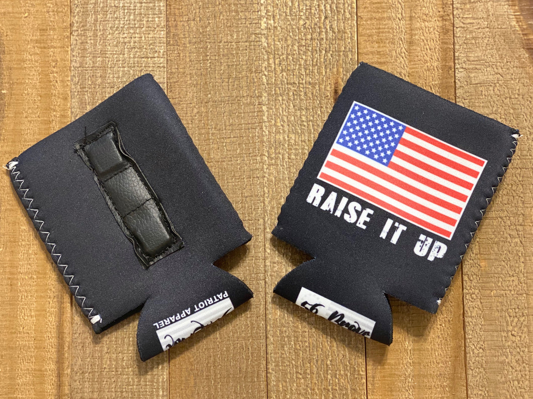 Raise it up Koozie (Magnetic)