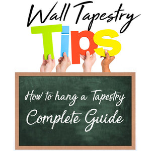 HOW TO HANG A TAPESTRY [THE COMPLETE GUIDE]