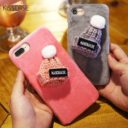 Lovely Cute 3D Cap Hand Made Phone Cases