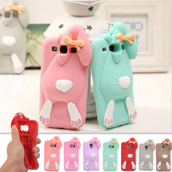 3D Cute Rabbit Phone Cases For Samsung