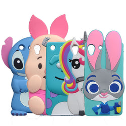 3D Cartoon Minions Stitch Case For Sony Xperia