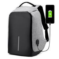 Waterproof Laptop External USB Charge Antitheft Backpack