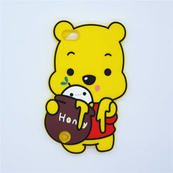 3D Cute Cartoon Winnie Pooh Back Cover For ipod Touch 5 Touch5 / Touch 6 Touch6