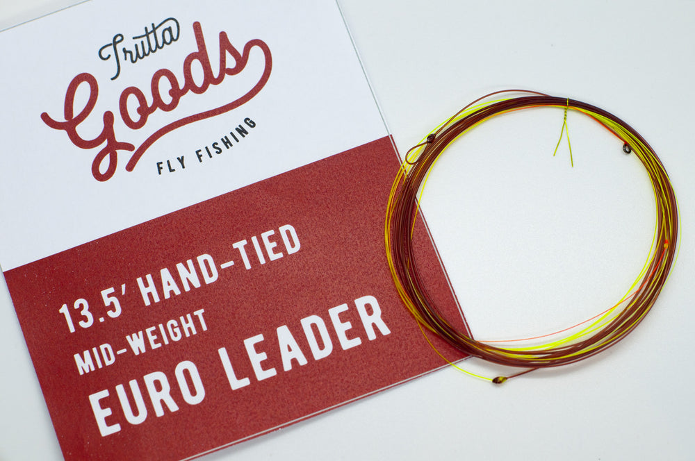 Hand-Tied Euro-Nymphing Leaders