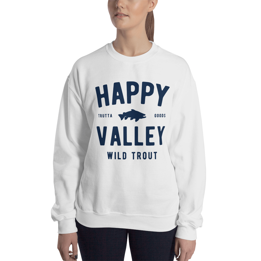 Happy Valley Wild Trout Whiteout Sweatshirt