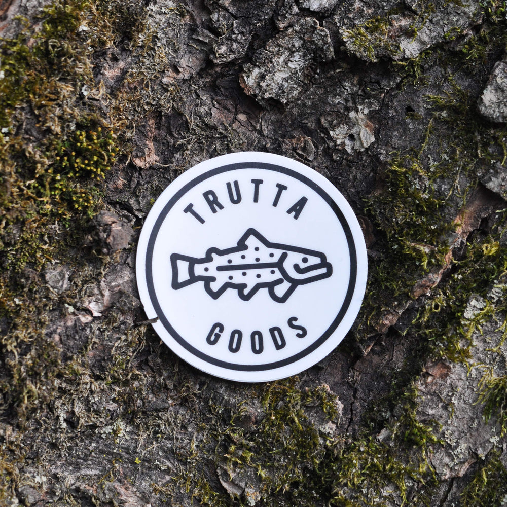 Happy Trout Sticker