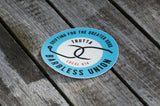Barbless Union Sticker