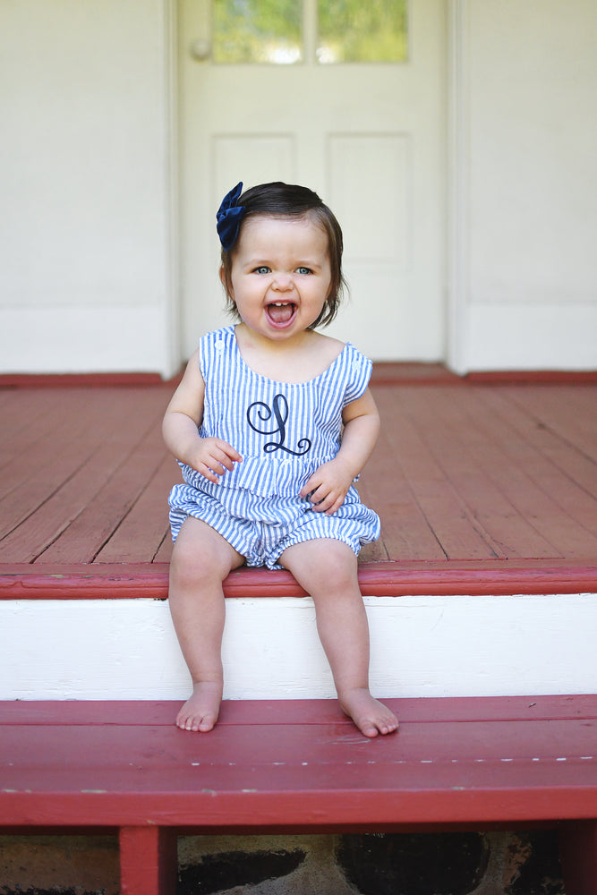 Monogram Shortall Romper