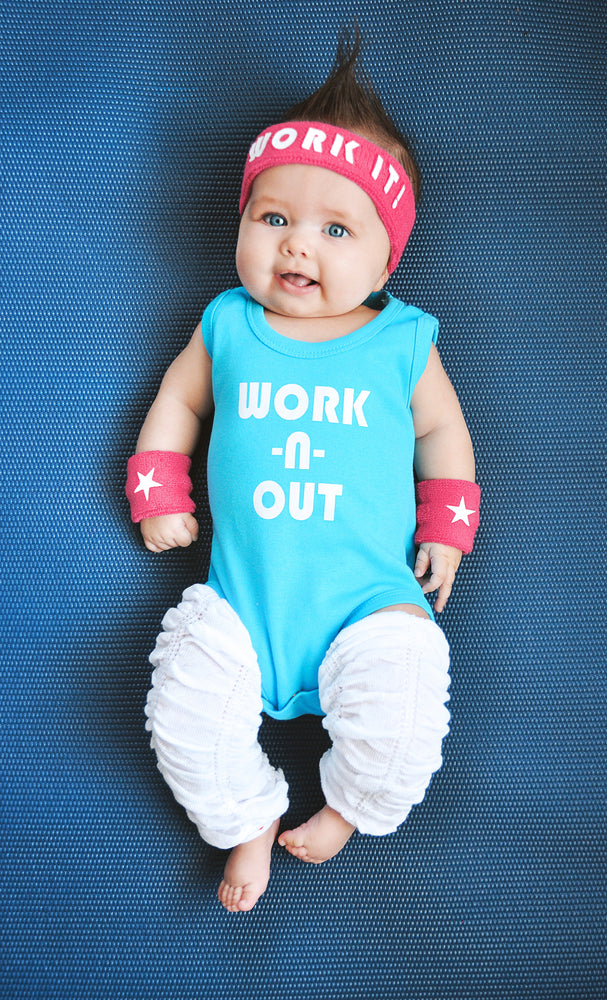 Workout Baby Costume
