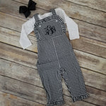 "alt=""girls gingham longall"""