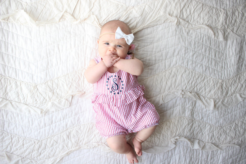 4th of July Ruffle Romper