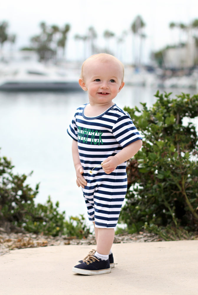 Boys Summer Romper