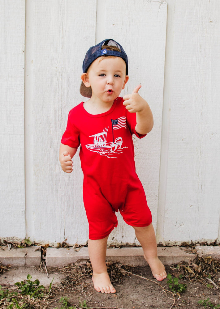 Nautical Summer Baby & Toddler Romper