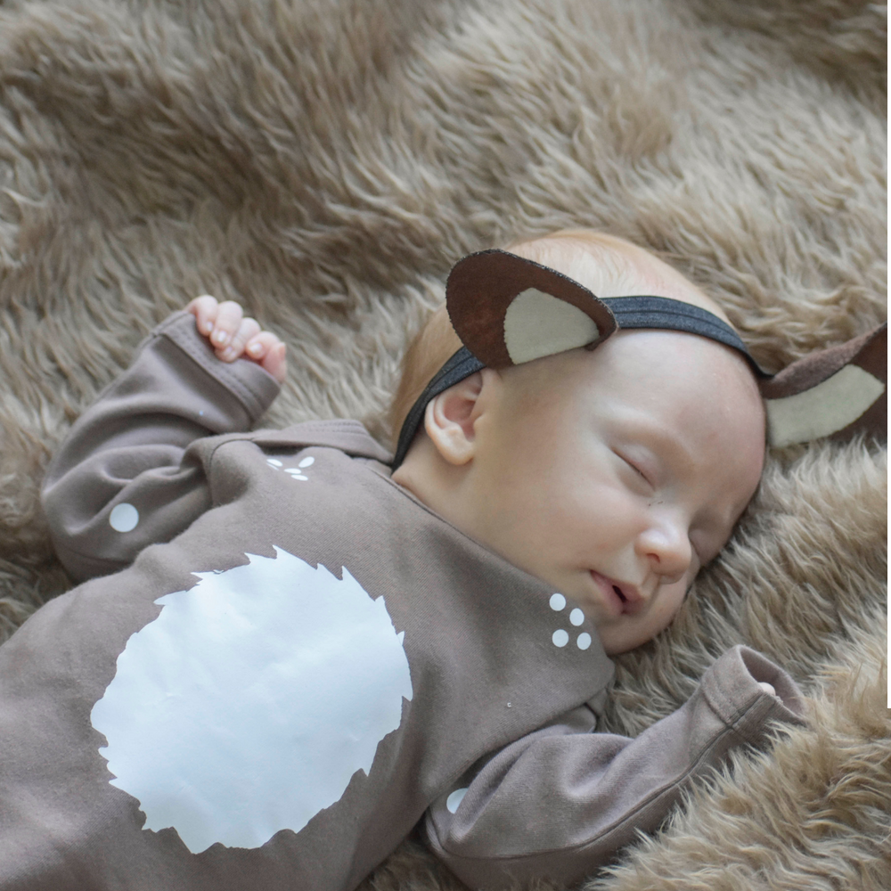 "alt=""baby deer ears headband"""