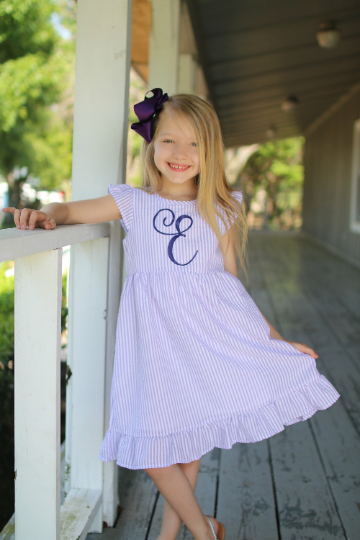 "alt=""monogrammed seersucker dress"""