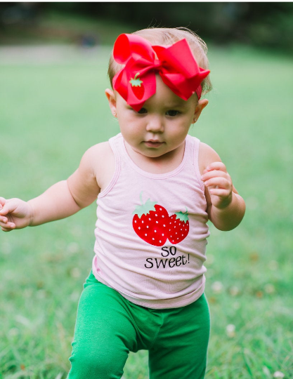 Strawberry Birthday Tank Top