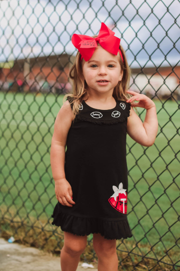 Girls Custom Football Dress