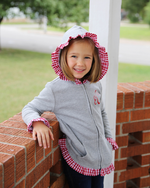 Girls Lightweight Monogram Jacket