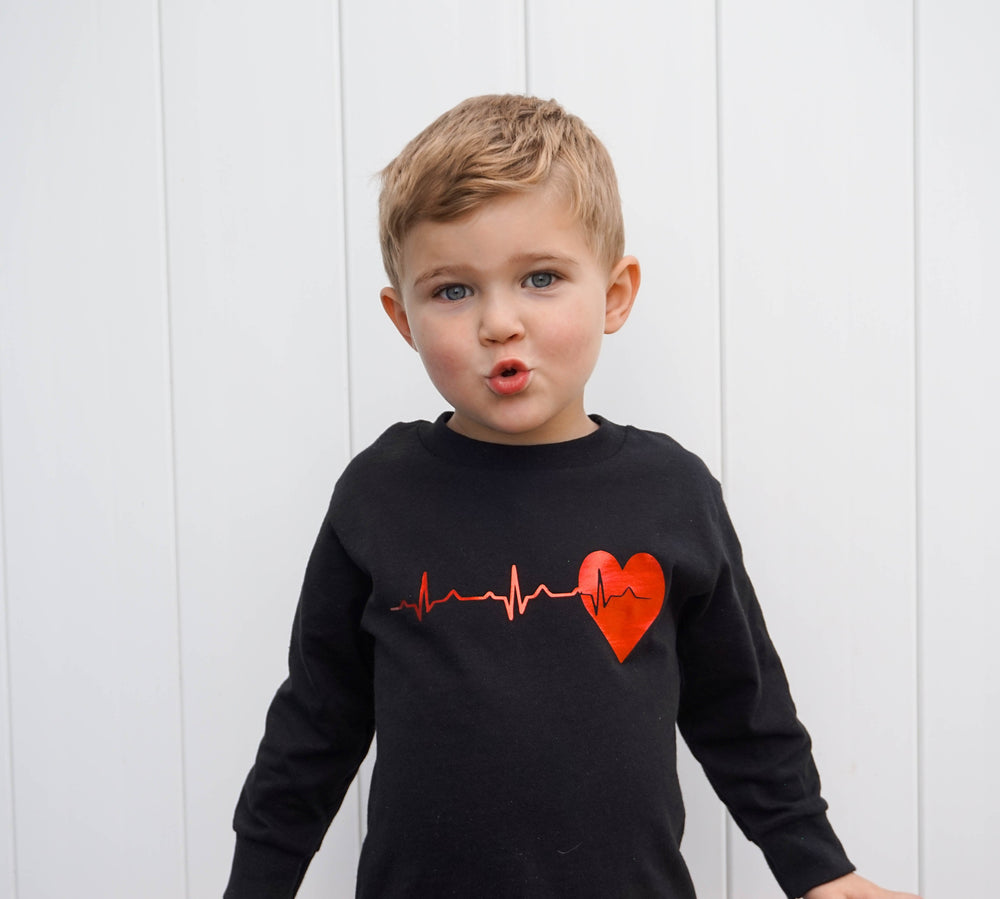 Heartbeat Heart Warrior Shirt
