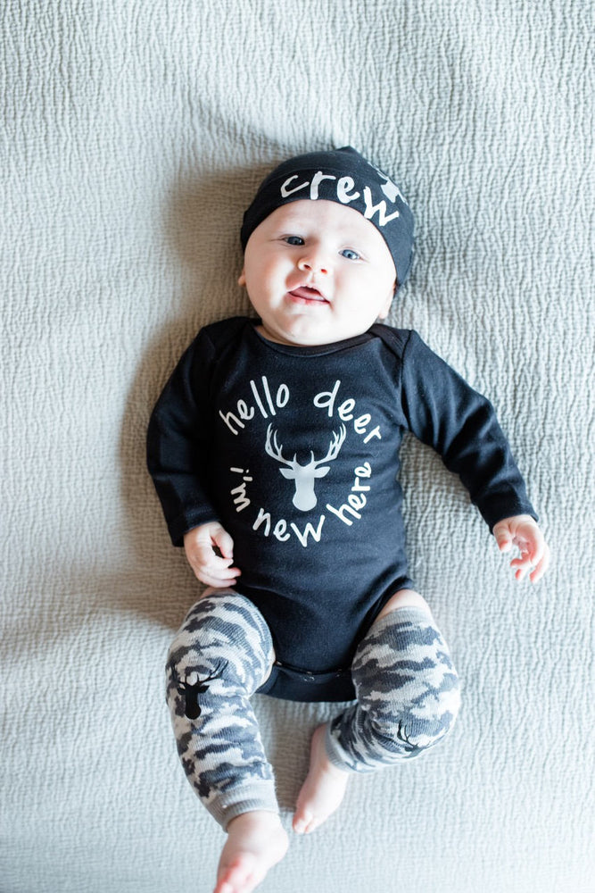 Baby Boy Camo Coming Home Outfit